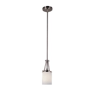 Escolta 1-Light Cylinder Pendant by Ebern Designs