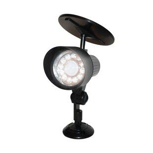 Price Check Motion Sensor Solar 12-Light LED Spot Light By EcoThink™