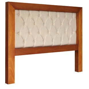 Mandir Queen Upholstered Panel Headboard by REZ Furniture
