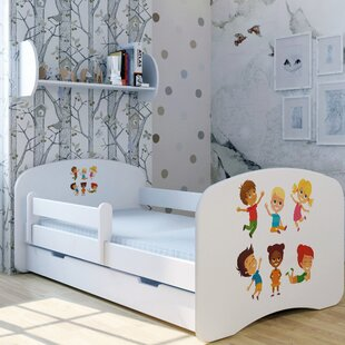 Funny Children Bed With Mattress And Drawer By Zoomie Kids