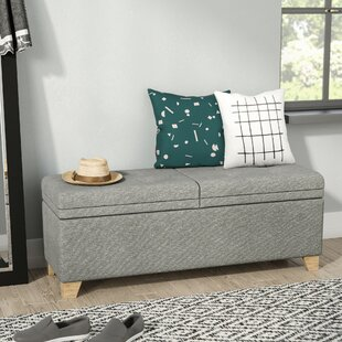 Nixon Upholstered Storage Bench by Mercury Row