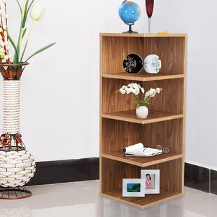 Corner Bookcase by Adeco Trading