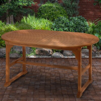 Mustafa Extendable Wooden Dining Table by Union Rustic Spacial Price