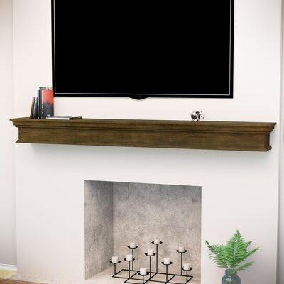 Arcola Floating Mantel Fireplace Shelf Mantel Home Loft Concepts