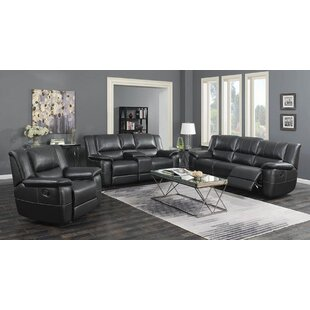 Nawrocki 3 Piece Reclining Living Room Set by Red Barrel Studio