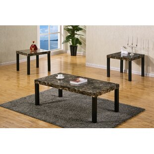 Mannion 3 Piece Coffee Table Set