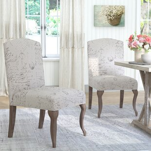 LaSalle Upholstered Parsons Chair (Set of 2)