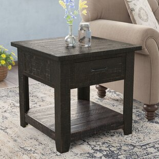 Soham End Table by Three Posts Coupon