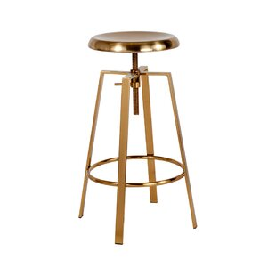 Lavonne Adjustable Height Swivel Bar Stool by Williston Forge