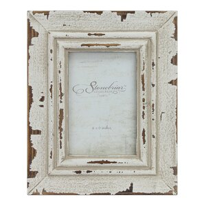 Stonebriar Weathered White Picture Frame