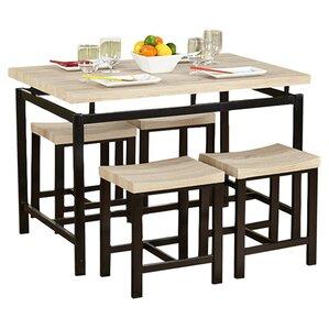 5piece delano counter dining set