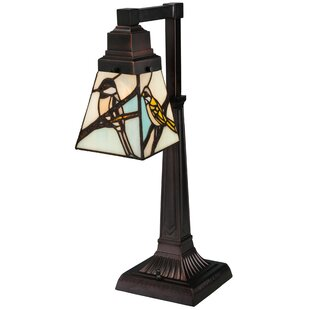 Animals Early Morning Visitors 19.5 Table Lamp