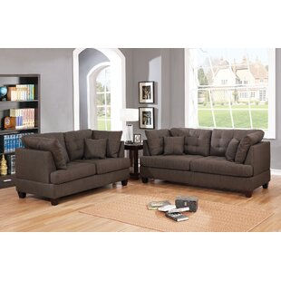 Affordable Hoyle 2 Piece Living Room Set by Ebern Designs Reviews (2019) & Buyer's Guide