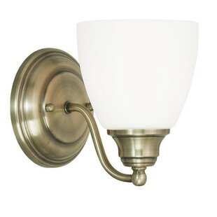 Read Reviews Manley 1-Light Armed Sconce By Three Posts