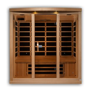 Dynamic Reserve Edition 4 Person Ulta Low EMF FAR Infrared Sauna By Golden Designs