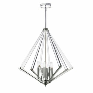 Longchamps 8-Light Geometric Chandelier by Mercer41