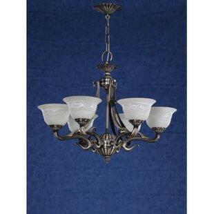 Zanin Lighting Inc. Saraso 9-Light Shaded Chandelier