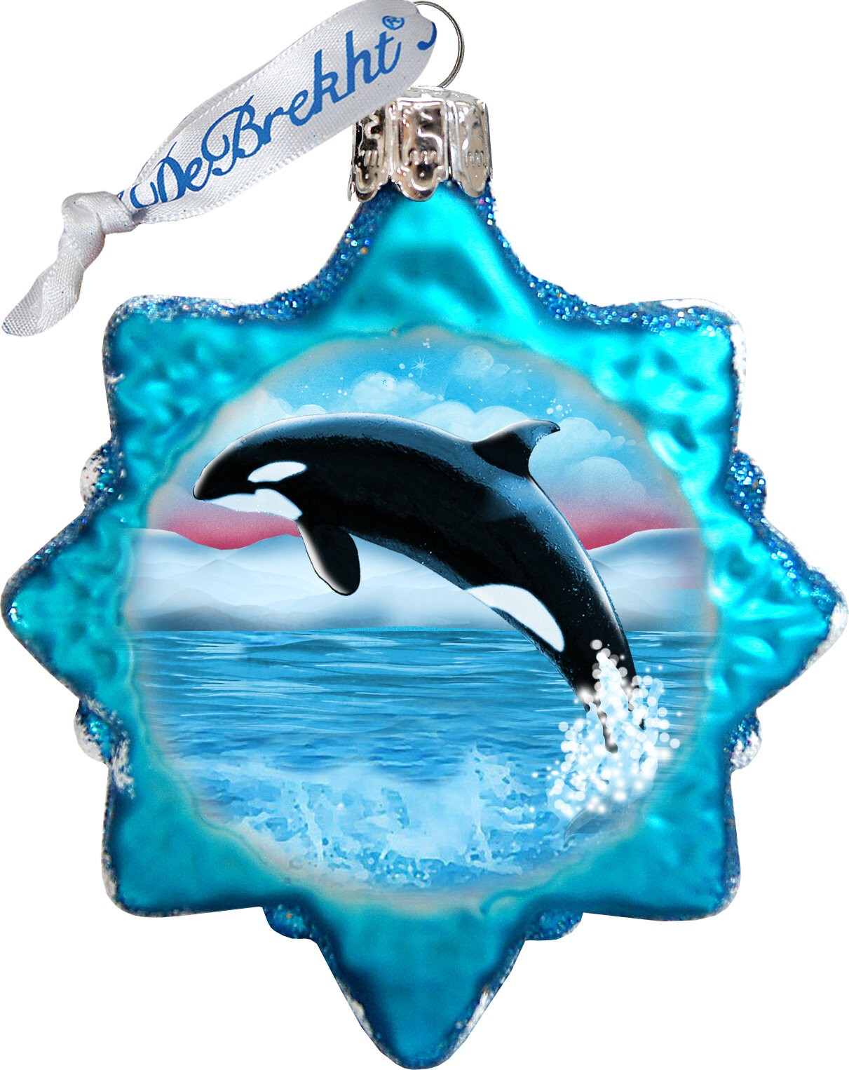 The Holiday Aisle Orca Shaped Ornament Wayfair
