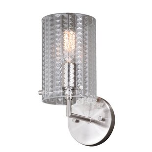 Bernier 1-Light Armed Sconce by House of Hampton