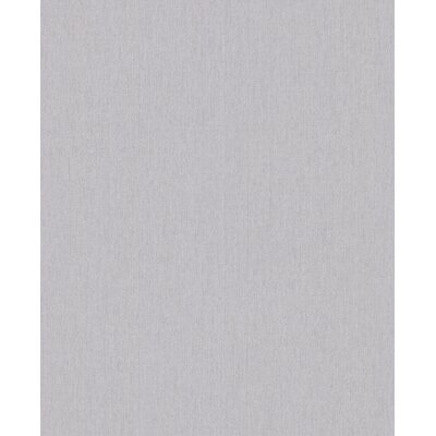 Wrought Studio Ericson 33' x 20 Solid Calico Wallpaper Color: Grey
