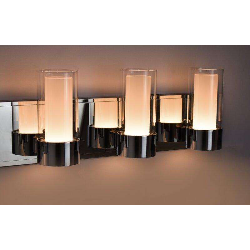 Orren Ellis Hamilton 6-Light Vanity Light & Reviews | Wayfair