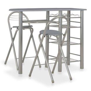 Lecenta Bar Set By Ebern Designs