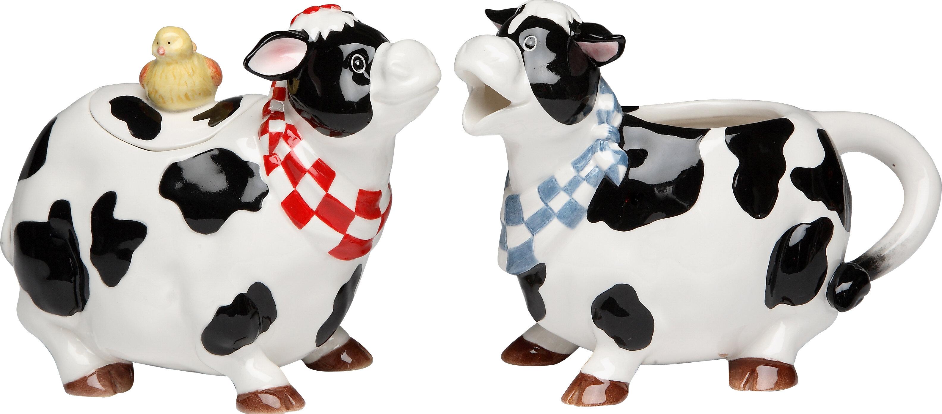 Do Cow Sugar And Creamer Set
