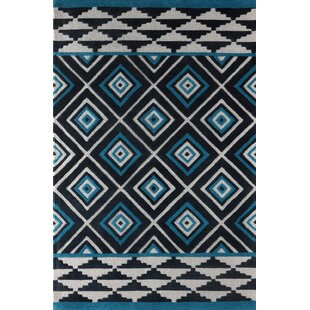 Great Price Luevano Hand-Tufted Teal Area Rug By Brayden Studio