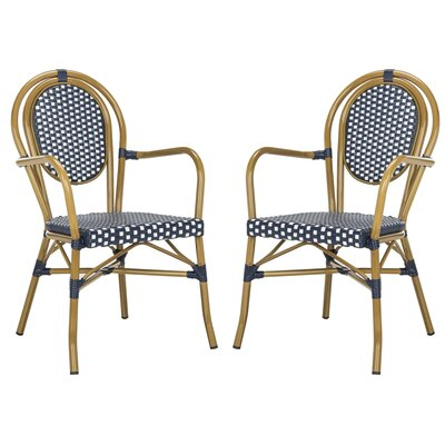 Mistana Shyanne Stacking Patio Dining Chair