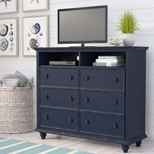 Beachcrest Home Addison 6 Drawer Dresser