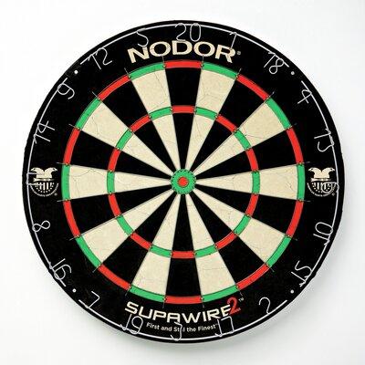 Supawires⢠Bristle Dart Board Nodor Darts
