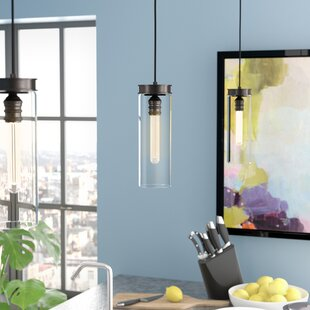 Wrought Studio Pardee 1-Light Cylinder Pendant