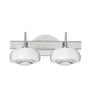 Comparison Focus 2-Light Vanity Light By Besa Lighting