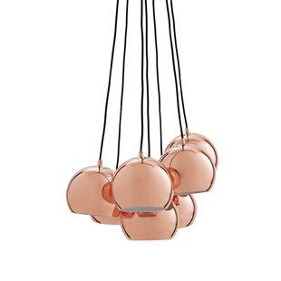 Ball Multi 7-Light Cluster Pendant by Frandsen