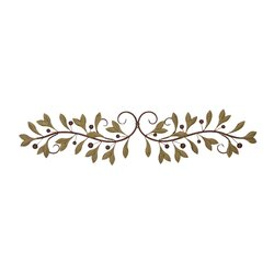 Metal Scroll Wall Decor red barrel studio metal leaf scroll wall décor & reviews | wayfair