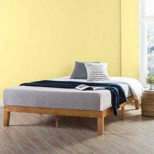 Dark Wood Bed Frame Wayfair