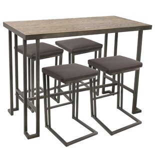 Calistoga 5 Piece Counter Height Dining Set