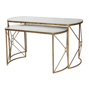 Reviews Viceroy Nested 2 Piece Coffee Table by Aidan Gray