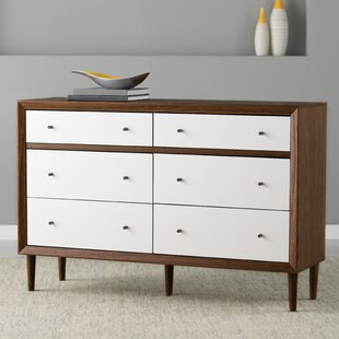 Langley Street Sunset 6 Drawer Double Dresser