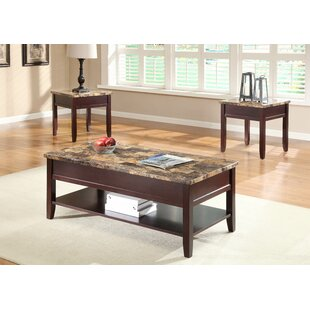 Orton 3 Piece Coffee Table Set