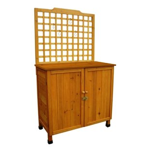 Potting Table with Storage by Leisure Season