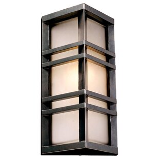 Ebern Designs Upsala 1-Light Outdoor Flush Mount