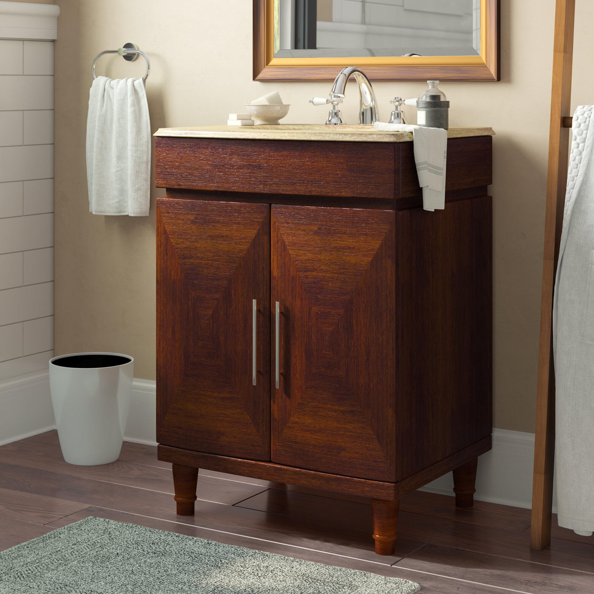 Astoria Grand Zamora 26 Single Bathroom Vanity Set Reviews Wayfair