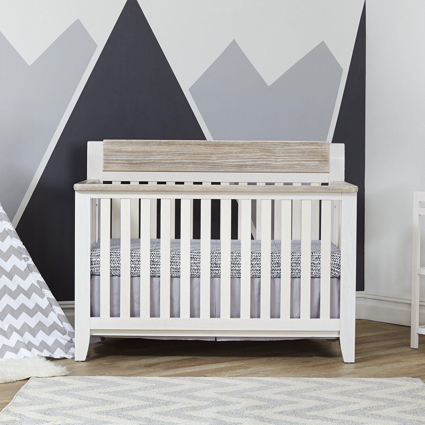 Hayes 4 In 1 Convertible Crib
