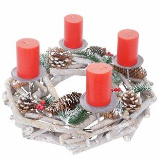 35cm Christmas Wreath By The Seasonal Aisle