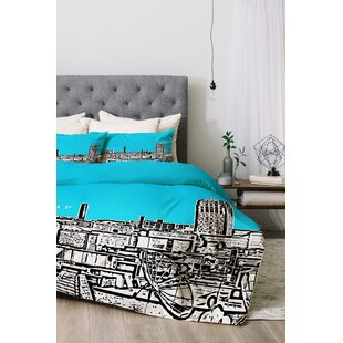 East Urban Home Ann Arbor Duvet Cover Set