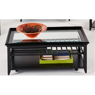 Lyndonville Coffee Table with Tray Top
