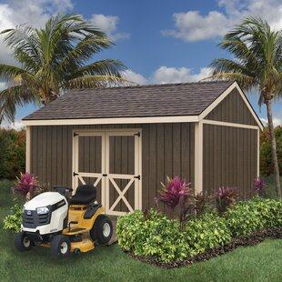 Best Barns Brookfield Without Window 16 ft. W x 12 ft. D Solid Wood Storage Shed