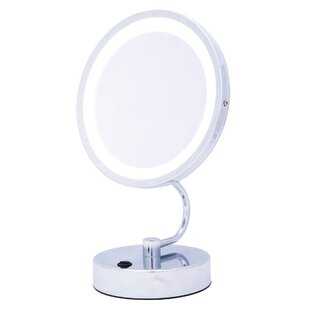 Buy clear LED Lit Foldaway Mirror By Danielle Creations