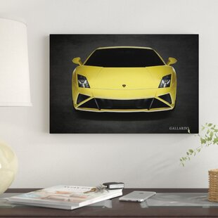 'Lamborghini Gallardo LP-560' Graphic Art Print on Canvas By East Urban Home